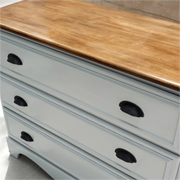 Use pine moulding to add detail to furniture