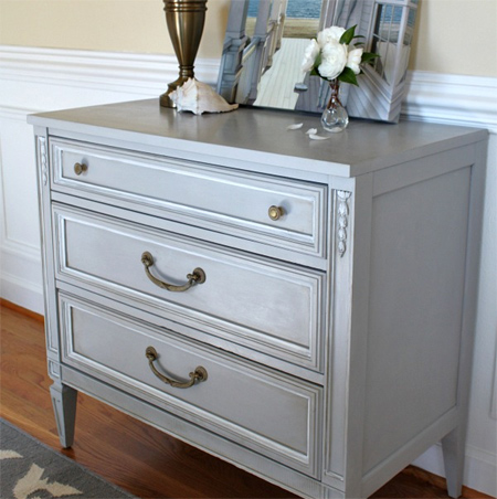 Make Your Own Chalk Paint Interior Crackfiller And Water Add To Paint For  Painted Dresser Cabinet