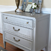 How to make chalk paint... the easy way!