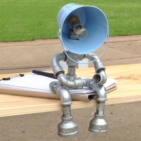 HOME DZINE Home Decor | Industrial style table lamp