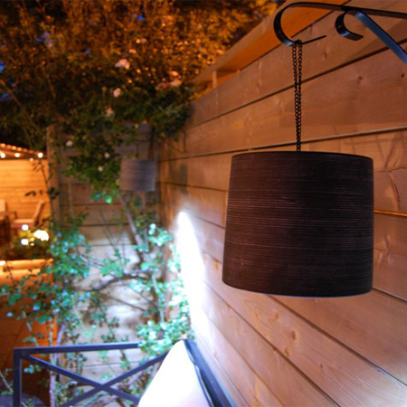 Great garden party ideas plastic clay pot outdoor lights