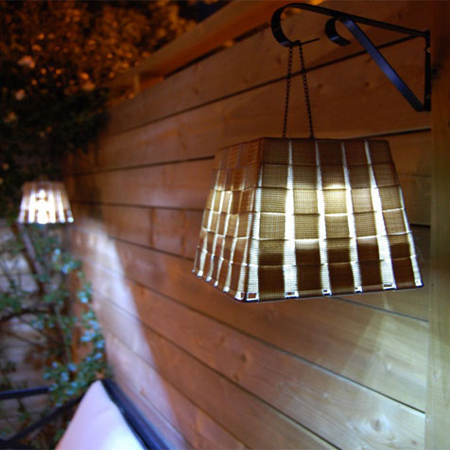 Great garden party ideas diy basket outdoor lights