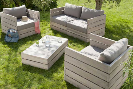 Awesome DIY Outdoor Garden Furniture Ideas Reclaimed Timber Wood