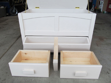 Storage chest or toybox for nursery or bedroom