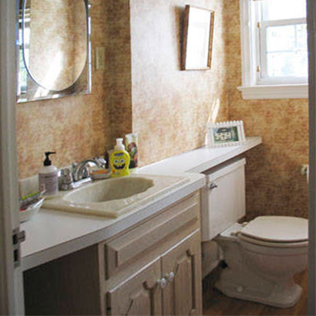 Home dzine bathrooms bathrooms go from dated to dreamy for Bathroom ideas co za