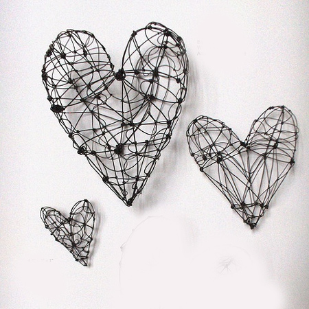Home dzine craft ideas crafty ideas to use wire for home for Wire art projects