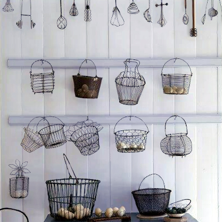 Crafty Ideas To Use Wire For Home Decor Projects Wire Baskets