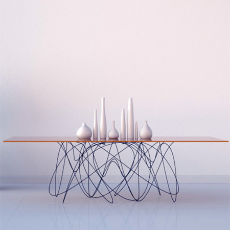 Crafty ideas to use wire for home decor projects contemporary wire table quantum