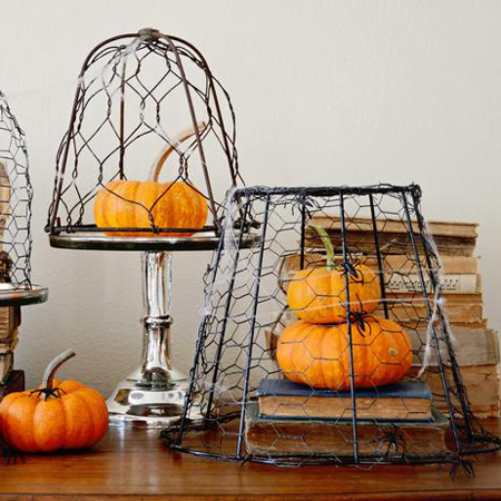 Crafty ideas to use wire for home decor projects chicken wire cloche