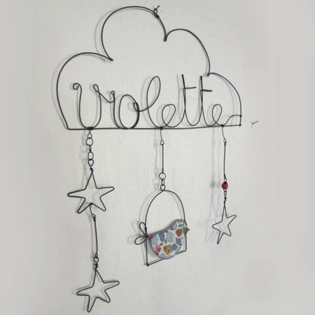Home dzine craft ideas crafty ideas to use wire for home for Very simple wire craft projects