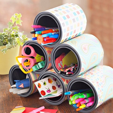 Home Dzine Craft Ideas Best Recycled Can Ideas