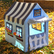 Sew a three of playhouse tents