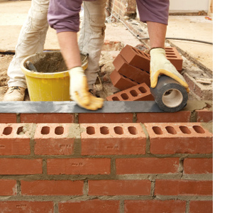 Basic bricklaying skills dpc damp proofing course