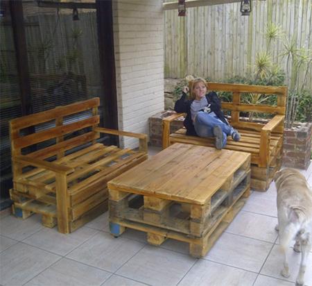 wood pallet furniture. Brilliant Furniture DIY Outdoor Pallet Furniture And Wood Pallet Furniture O