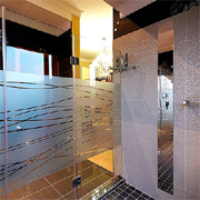 Glass... sustainable design option for home interiors