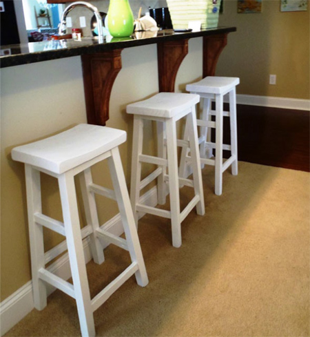 Home Dzine Home Diy Make Your Own Bar Stools