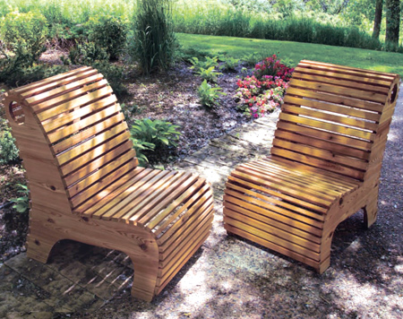 Home Dzine Garden Diy Outdoor Slat Chair