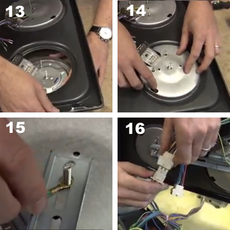 Quick fix for a stove top or hob burner plate that doesn't work