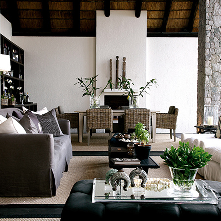 Home dzine home decor modern african interior design for Modern home accents accessories