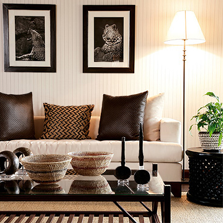 Home dzine home decor modern african interior design for Home decoration pics