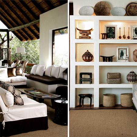 Home dzine home decor modern african interior design - Contemporary modern home design ideas with decor ...