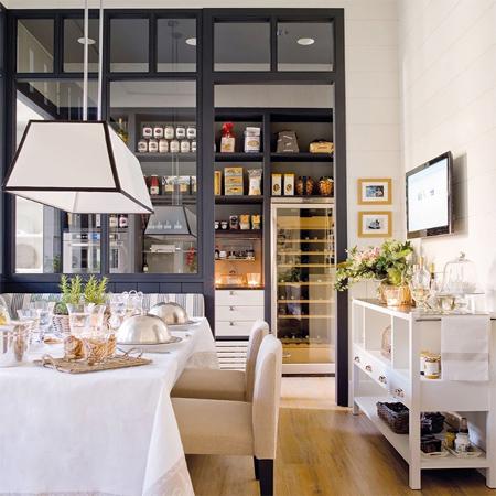 Half Open Kitchen Design. Closing off an open plan kitchen or semi design HOME DZINE Kitchen