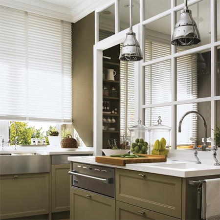 home dzine kitchen | closing off an open-plan kitchen or semi open