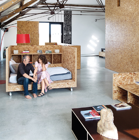 Beautiful Decor And Furniture Using OSB   Oriented Strand Board PG Bison