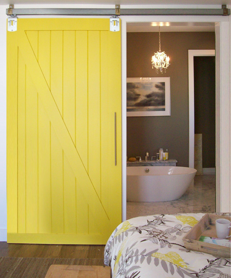 HOME DZINE Home DIY | DIY barn-style sliding door on