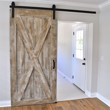 Instructions Make A Barn Style Sliding Door Or Fit Kit