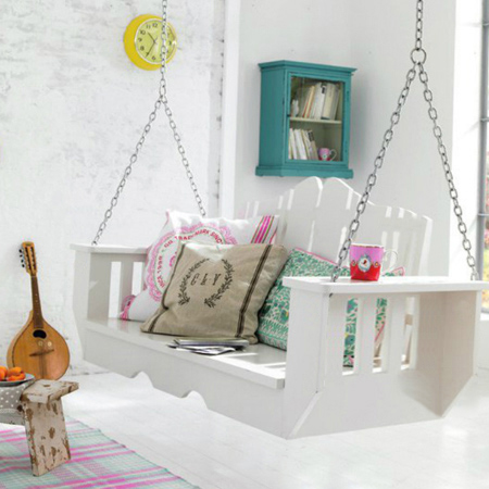 How to make an indoor swing