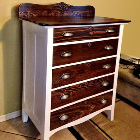 Restore antique or vintage chest of drawers
