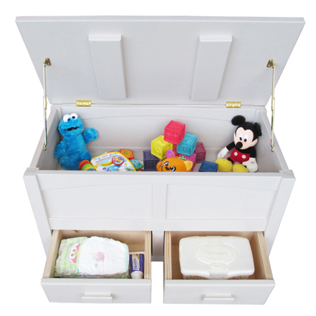 Storage Chest Or Toybox For Nursery Bedroom