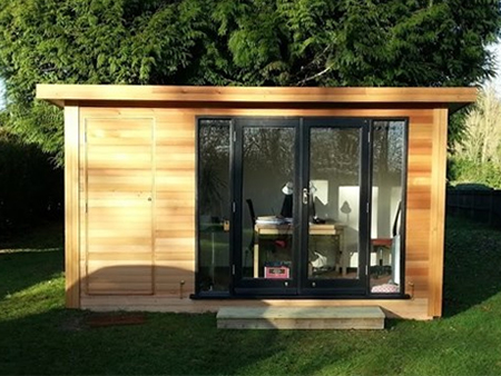 Kiala Diy garden office shed