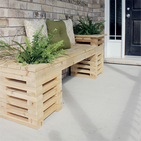 how to make diy wood timber garden bench