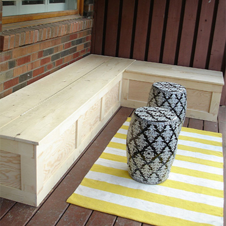how to make diy wood frame garden bench