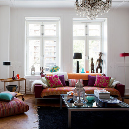 Design interior living room - Home Dzine Home Decor Living In Full Colour