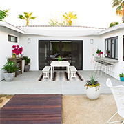Decorate your outdoor living spaces