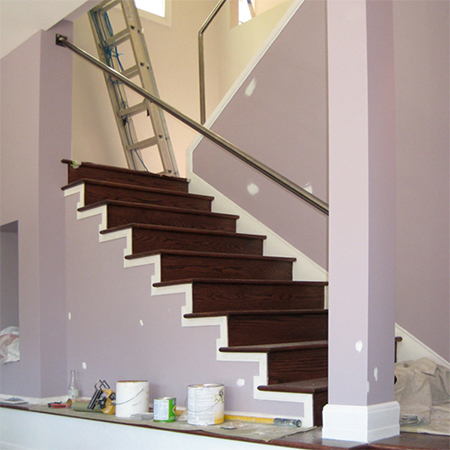 Home Dzine Home Improvement Clad A Staircase With Wood