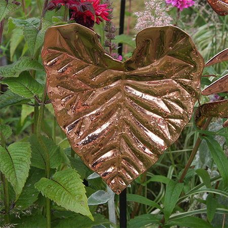 copper leaft suncatcher