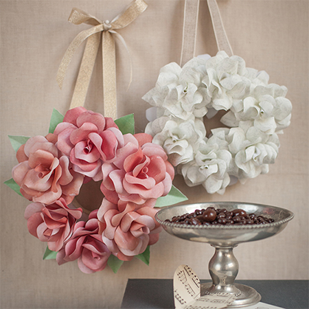 The most gorgeous paper roses