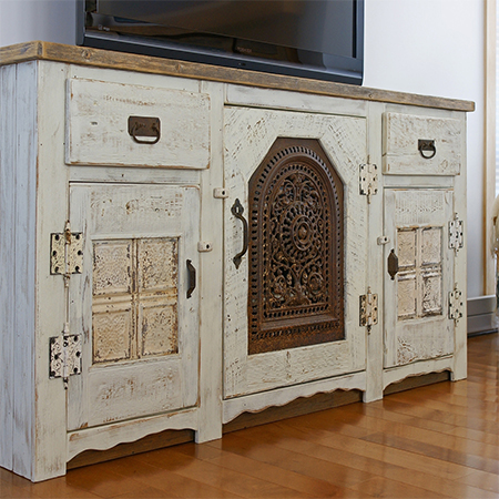 Ideas and instructions for whitewashed furniture