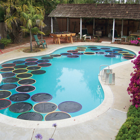 free solar swimming pool heating ideas craft project