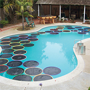 FREE solar heating for your swimming pool