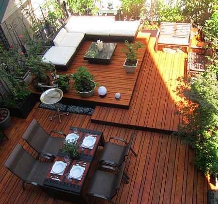 Home Dzine Garden Build A Multi Level Diy Deck