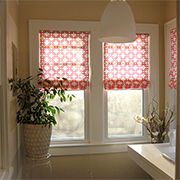 Easy way to make Roman blinds