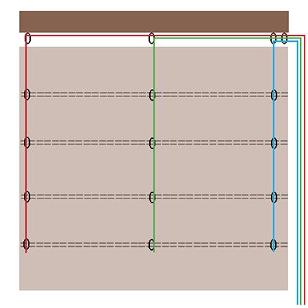 Home Dzine Decor Easy Way To Make A Roman Blind