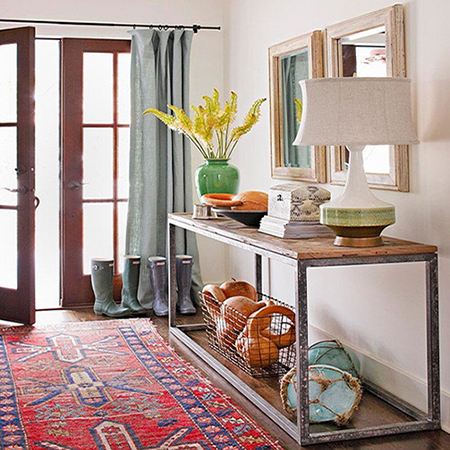 diy ideas entrance hall console table