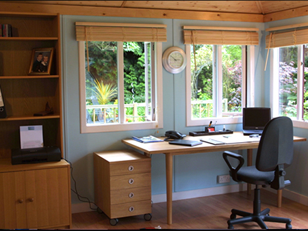 Garden Shed Wendy House Practical Home Office Ideas