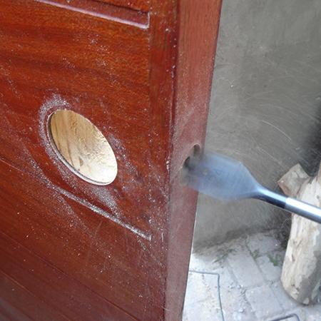 Home Dzine Home Diy How To Fit A Door Knob